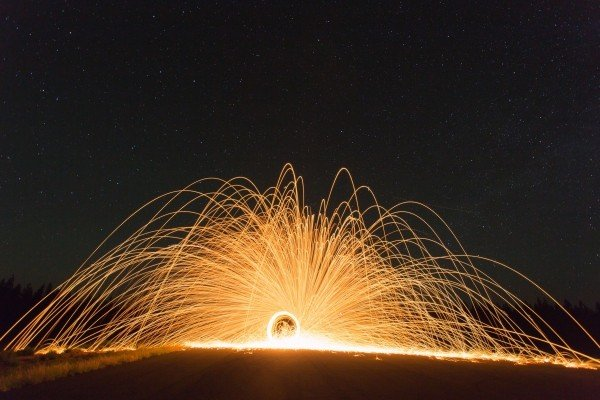 fire-wheel-fireworks-wheel-sparks-trails-bright