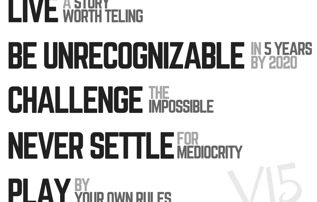 The Manifesto of Venture 15 | Day 1 of 30