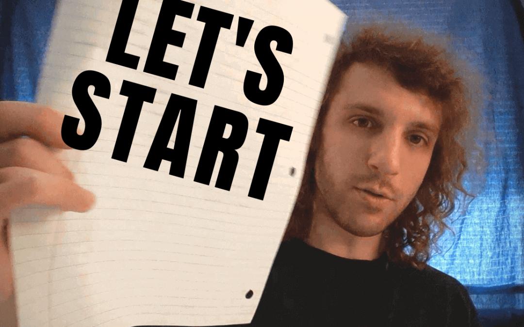 Let's Start. [Video]